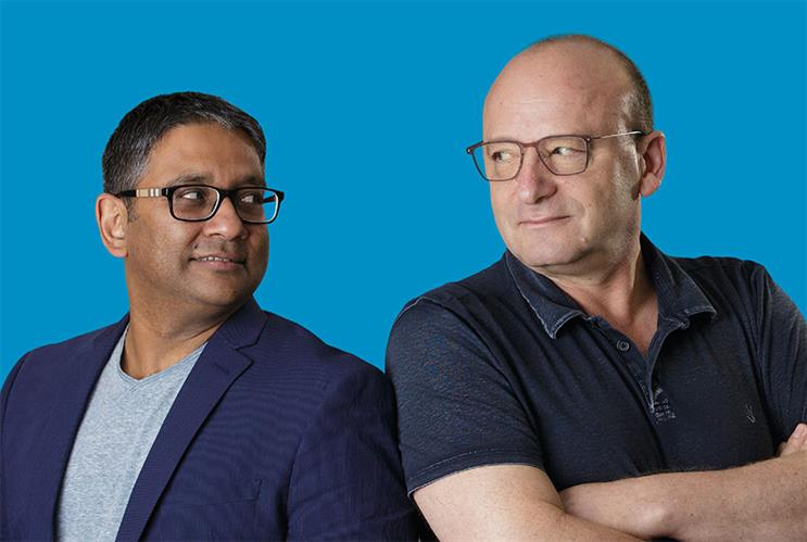Accenture Interactive's Joy Bhattacharya (left) and Anatoly Roytman (right) are passionate about truly effective brand partnerships and transformation