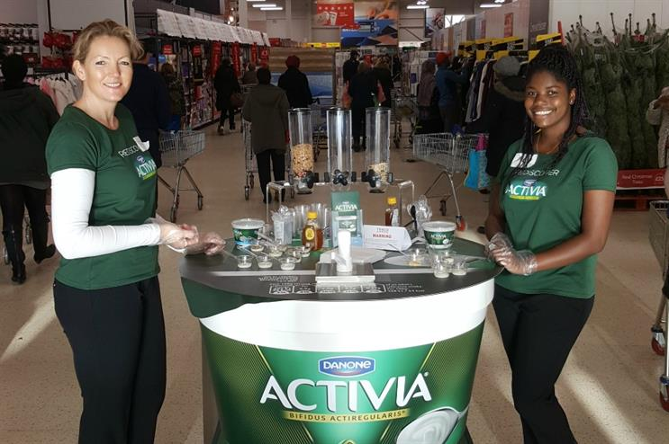 MARS Events appointed by Danone UK for Activia relaunch