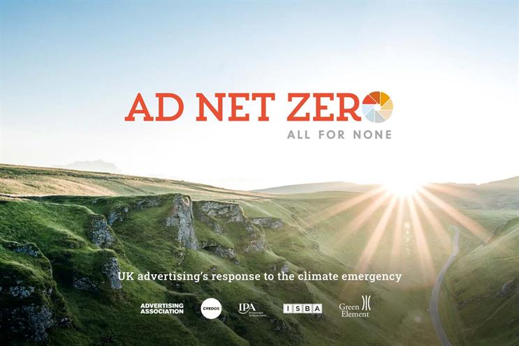 Ad Net Zero: sets 2030 as deadline to stamp out net carbon emissions