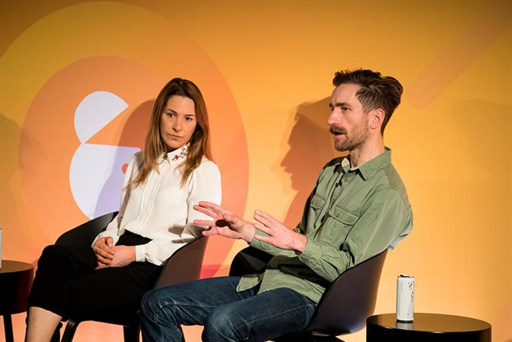 Gaby Bell, CEO Europe, Hall & Partners and Will Whalley, YouTube B2B marketing manager, Google