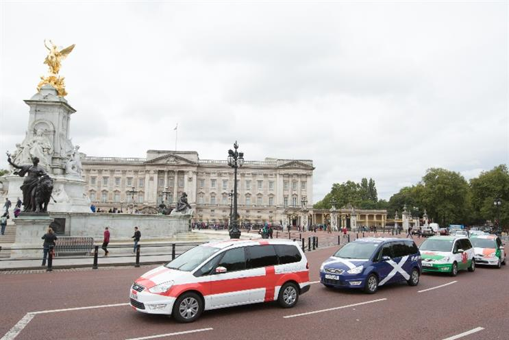 Addison Lee: invites customers to pick a team for discounts