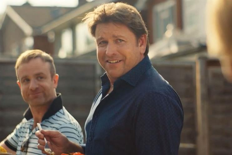 Asda: new signing James Martin has made an impression on viewers in Saatchi & Saatchi's campaign