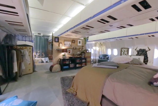 Airbnb and KLM's 'pimped up' plane accommodation: the two brands have signed a commercial partnership