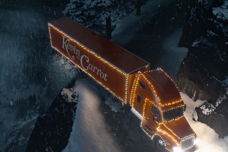 Aldi spoofs Coca-Cola truck and Italian Job in Christmas thriller