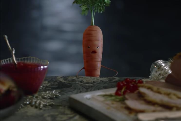 Adwatch of the Year: Kevin the carrot crowned favourite Christmas ad