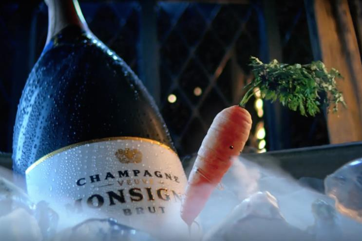 Aldi makes a carrot the star of its Christmas spot