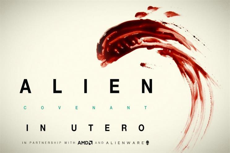 Alien: Covenant: VR experience in cinemas