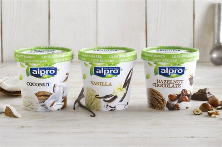 Alpro: new range of ice creams