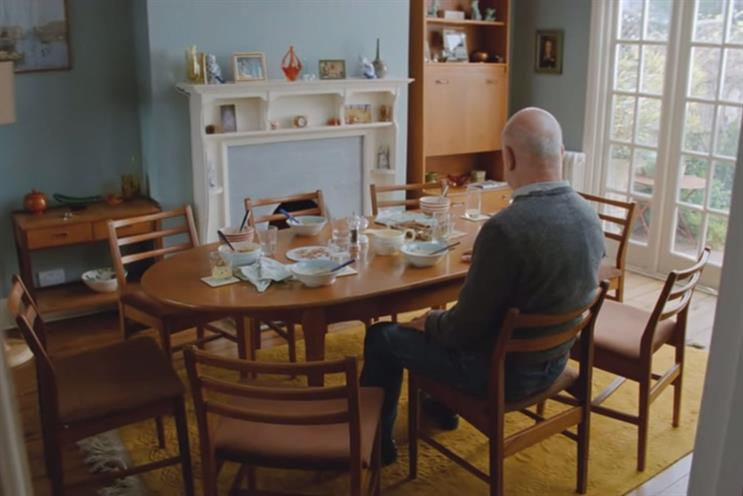 Alzheimer's Society: McCann handles integrated work