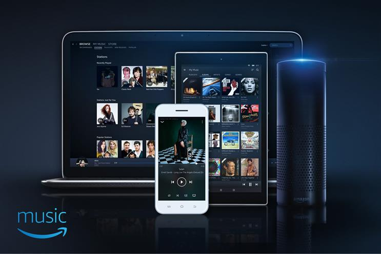 Amazon Music Unlimited: available from today