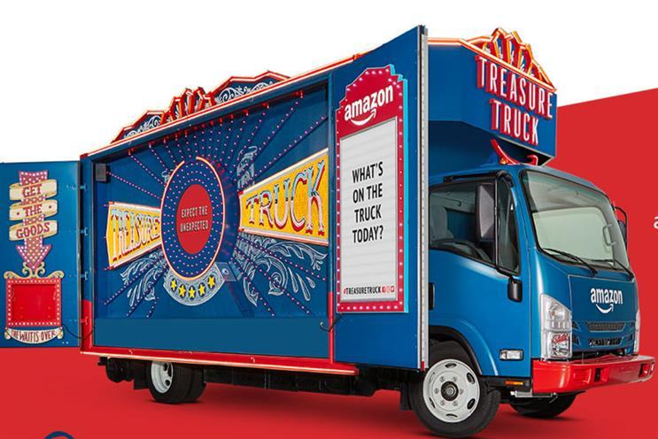 Amazon's Treasure Truck to make UK city stops