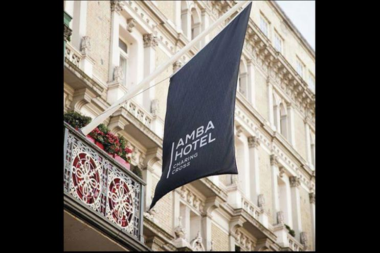 Mr President: appointed to create the brand position and advertising for Amba Hotels