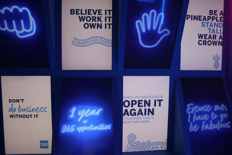 Why American Express has created a Japanese forest and neon jungle experience