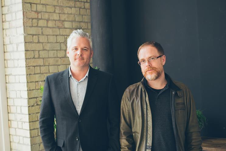 Chris Ryan and Harry Llufrio: will lead the AnalogFolk Hong Kong office