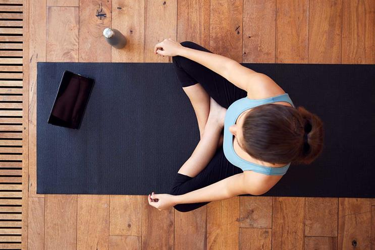 Yoga: various apps are available to support fitness and well-being (Getty Images)