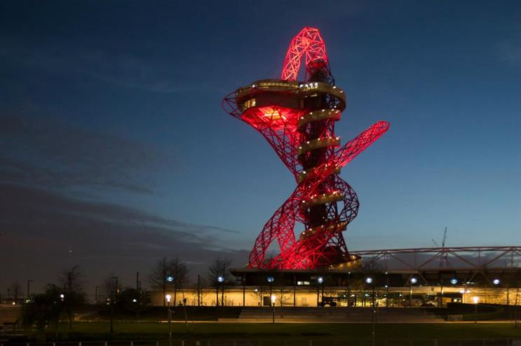 The Obit's two viewing platforms  - 76 and 80 metres - are being transformed into party spaces