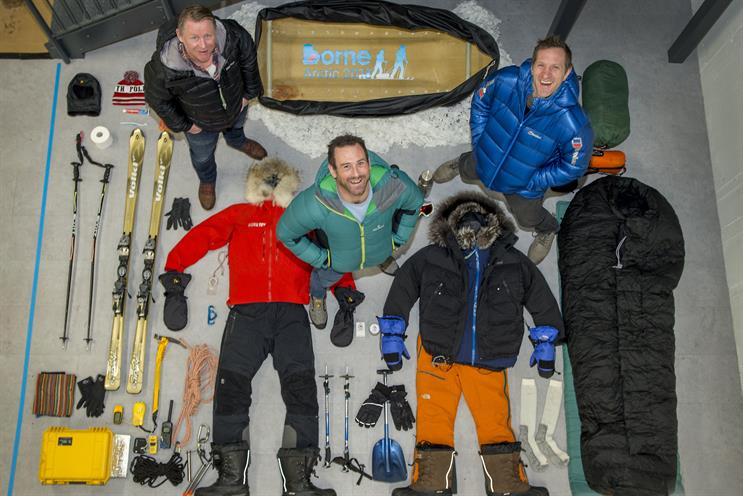 Premature baby charity polar trek launch highlights efforts needed to save babies