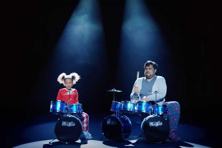 Argos: one of the first brands to launch its Christmas TV ad this year