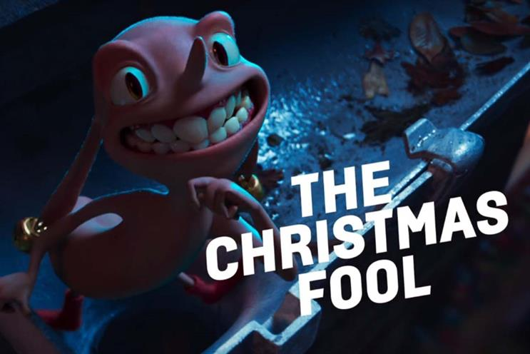 Argos introduces 'Christmas Fool' in campaign featuring litany of festive mishaps