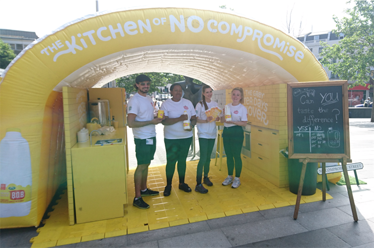 Arla launches Kitchen of No Compromise tour