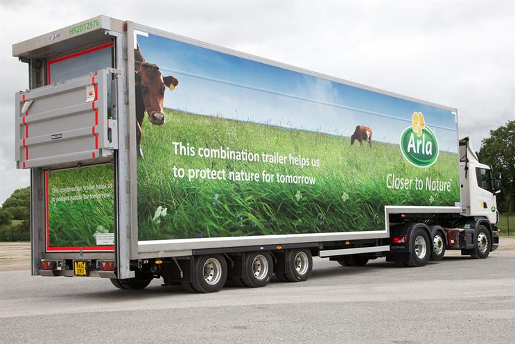 Arla Foods calls Euro media contest