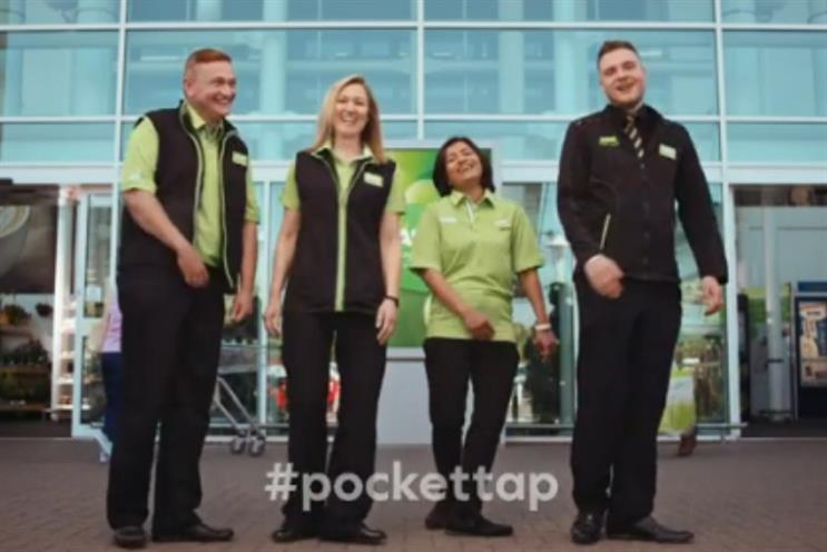 Will the resurrected pocket tap campaign help Asda in the third quarter?