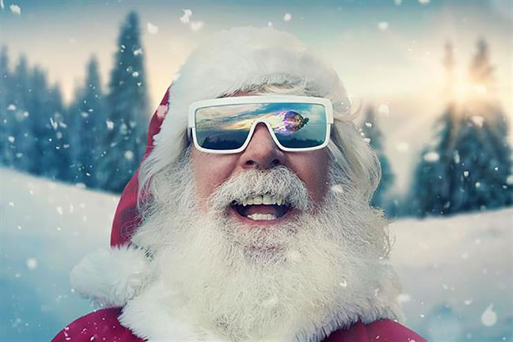 Asda: Christmas spot last year starred thrill-seeking Santa