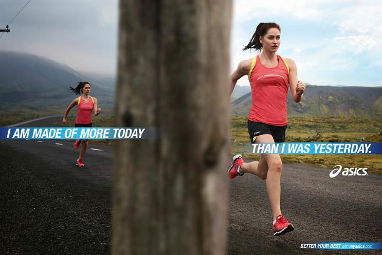 Asics: to consolidate media