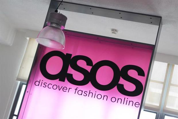 Asos: UK sales up, international sales down