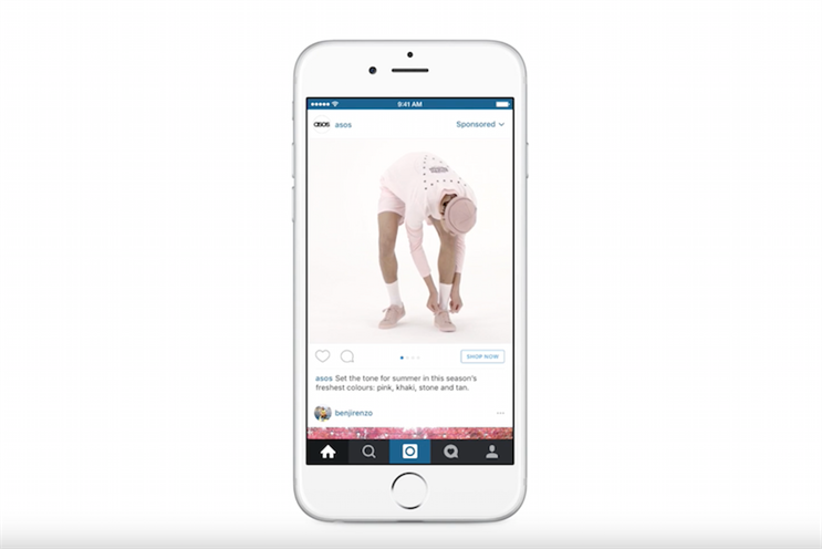 Asos jumps on new Instagram video carousel ads