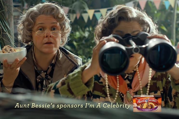 Aunt Bessie's: ITV sponsor