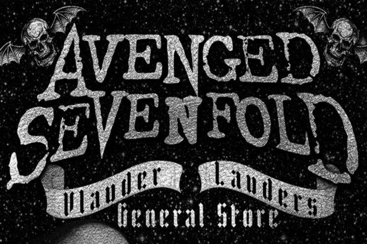 Avenged Sevenfold's pop-up in Camden