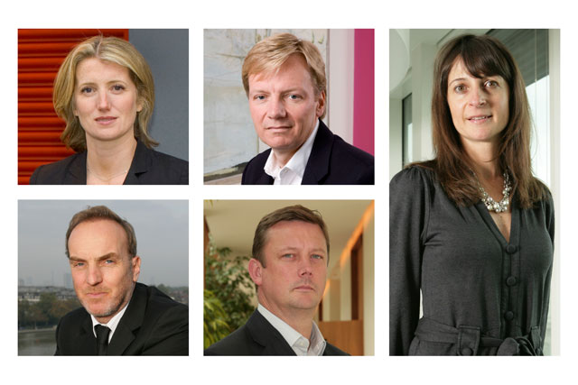 Clockwise from right: Debbie Klein, Russell Ramsey, Jon Claydon, Karen Buchanan and Hugh Baillie