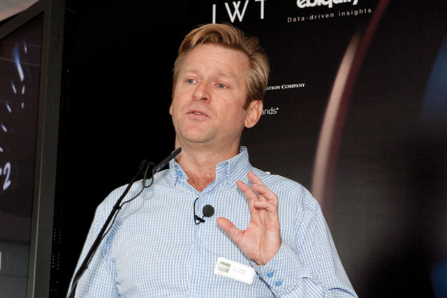 Hayward: spent two years as JWT UK's chief executive