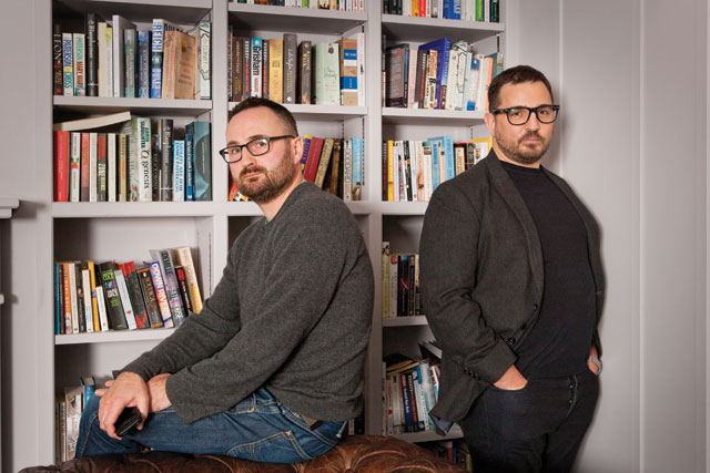 Hugh Tarpey and Andy Amadeo: AMV's latest creative appointments