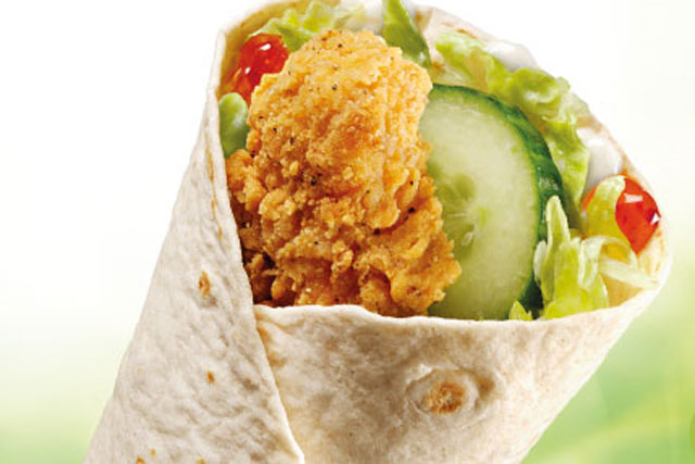 Mcdonald S Turns To Experiential Marketing For Wraps Roll Out