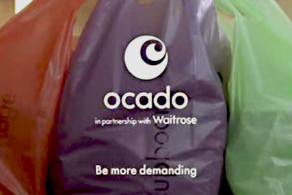 Ocado: secures deal with Morrisons