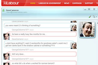 Labour Party spoofs online Shadow Cabinet meeting