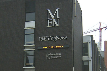 Manchester Evening News will transfer to Trinity Mirror ownership