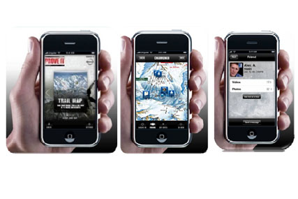Download: Nissan's branded iPhone app for skiers