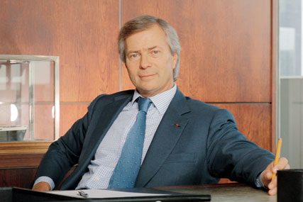 Vincent Bolloré, chairman of the Havas group