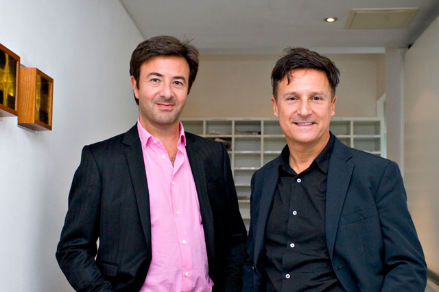 Marc Cave (left) and Malcolm Green: setting up a new ad agency