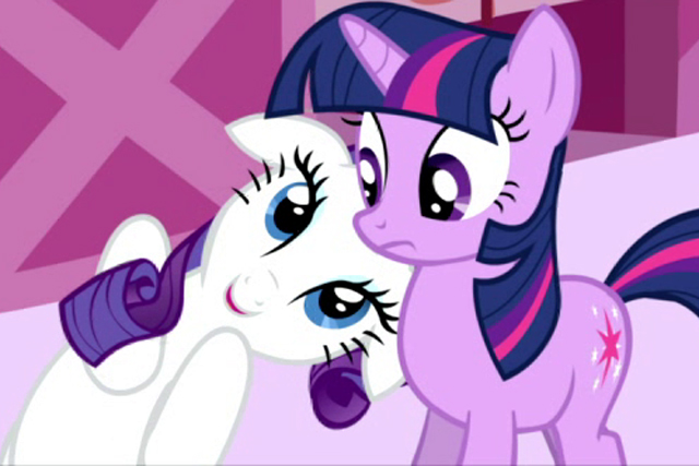 My Little Pony: broadcast on Hasbro's and Discovery Communications' The Hub