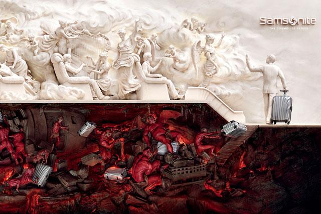Samsonite: 'heaven & hell' campaign wins Grand Prix for JWT Shanghai
