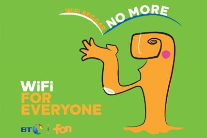 BT: runs Wi-Fi activity to highlight hotspots