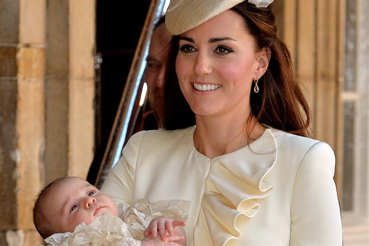 Prince George's birth in July was ushered in on a wave of hype