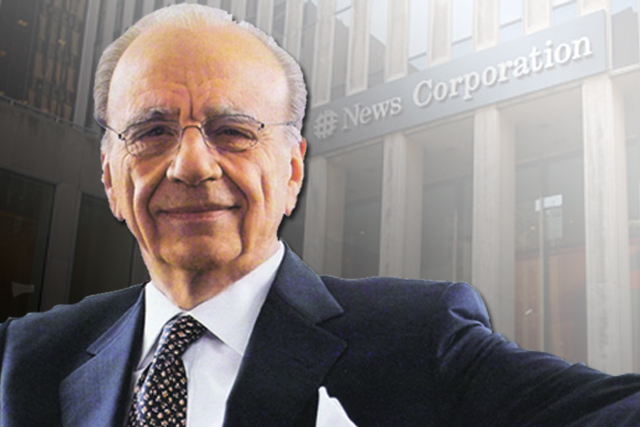 Rupert Murdoch: chairman and chief executive of News Corporation