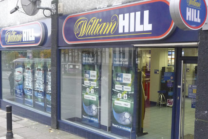 William Hill…being promoted as 'the home of betting'