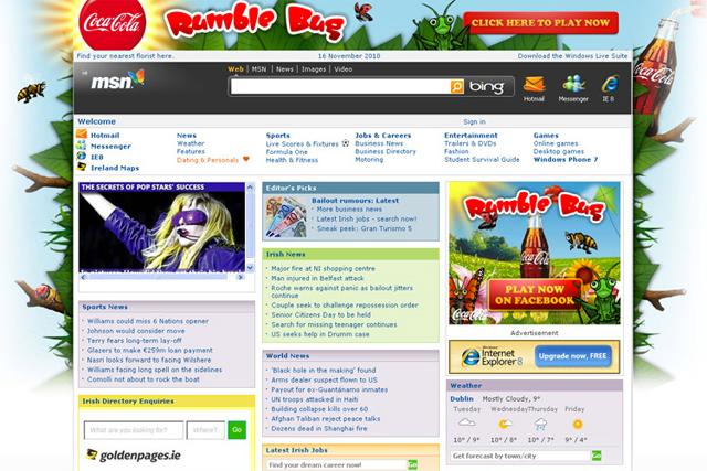 Cybercom: 'rumble dog' work for Coca-Cola