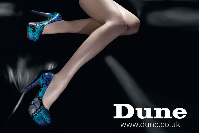 Dune: shoe and accessories retailer rolls out debut UK print campaign